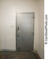 Interior of an Historic State Penitentiary in Boise Idaho...