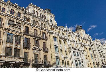 Gran Via in Madrid, Spain