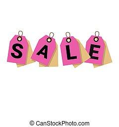 Black Friday Sale Tag Banner Vector Illustration