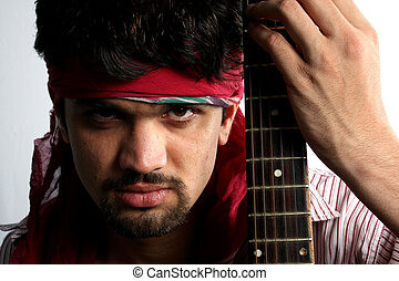 Angry Indian Guitarist