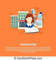 Education University Studying Web Banner