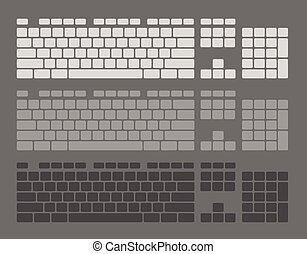 Keyboard Keys Set