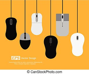Various Designs of Computer Mouse