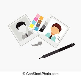 Picture Editing with Color Chart