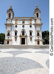 Igreja do Carmo church in Faro, Algarve Portugal
