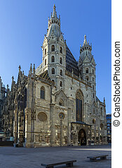 St. Stephen's Cathedral - Vienna - Austria - Early morning...