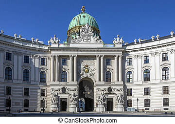 Hofburg Palace - Vienna - Austria - The Hofburg Palace in...