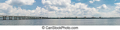 Dnepropetrovsk Dnipropetrovsk, Dnepr, Dnipro view of the...