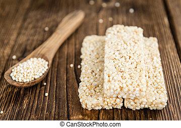 Quinoa, barras