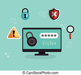 laptop technology security system data