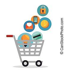 shopping cart online app