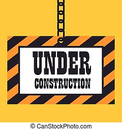under construction template icon