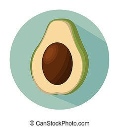 avocado healthy fruit fresh
