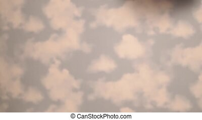 Kid in the clouds