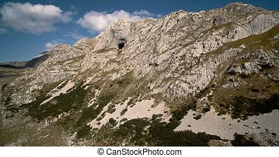 Aerial, Durmitor National Park, Montenegro - Graded and...