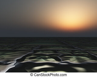 Dark Horizon Background