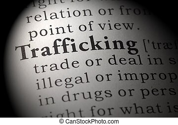 Dictionary definition of trafficking - Fake Dictionary,...