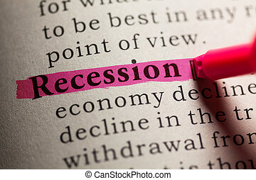 recession - Fake Dictionary, definition of the word...