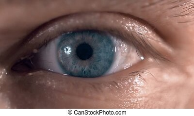 amazing blue eyes with no color retouch - amazing blue eyes...