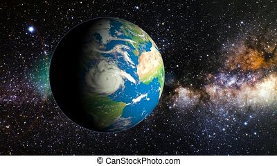 planet earth in space . Elements of this image furnished by...