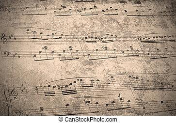 Årgång, musik, ark