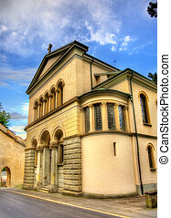 Christ Church in the historic centre of Lucerne - Switzerland