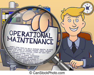 Operational Maintenance through Magnifier Doodle Style -...