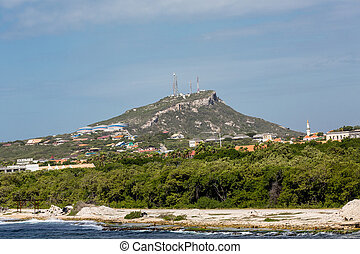 Mountaintop Industry in Curacao Nature