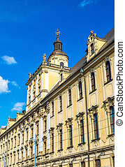University of Wroclaw, main building - Poland - The...