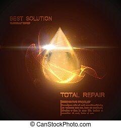 Collagen serum or oil essence droplet - Collagen serum or...