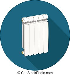 flat icon radiator in vector format eps10
