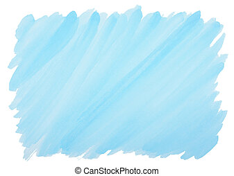 blue watercolor background with frayed edges