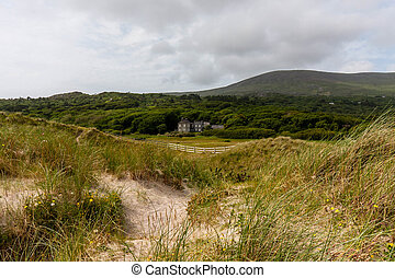 Derrynane National Park - Dunes in Derrynane National Park...