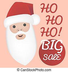 Portet Santa Claus.