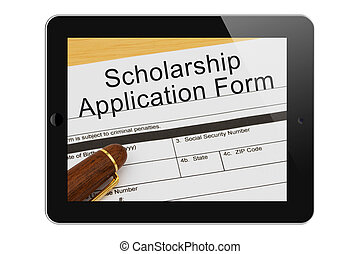 Applying for a Scholarship on the Internet