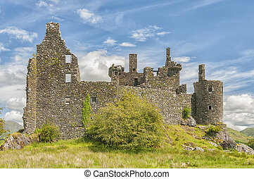 Kilchurn Castle Ruins - Kilchurn Castle, a ruined 15th...