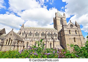 Christ Church Cathedral in Dublin, Ireland.
