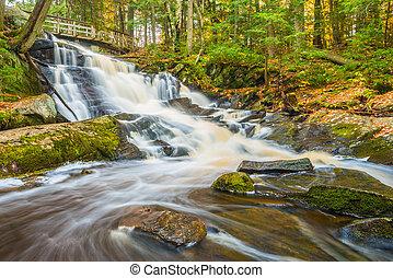 Potts Falls Bracebridge Ontario - Potts Falls are located...