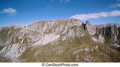 Aerial, Amazing Mountains In Durmitor National Park,...