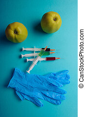 Chemical additives in food or genetically modified fruit...