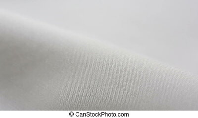 White Cotton Fabric Texture. It can be used as a background...