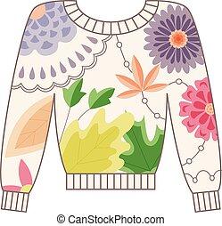 Pullover vintage - Vector pullover vintage