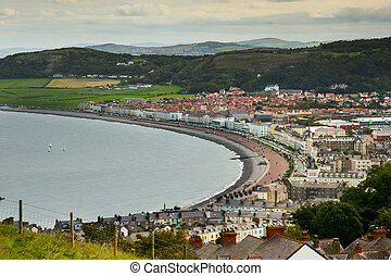 Picturesque seaside town
