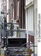 Lanterns in Amsterdam - Classical lanterns in the...
