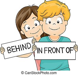 Kids In Front Of Behind