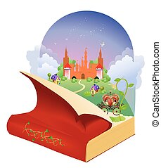 in the world of books and fairy tal
