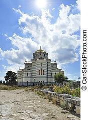 Cathedral of St. Vladimir. Chersonesus Taurica near...