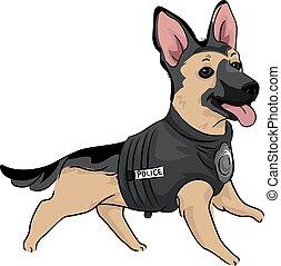 Police Dog Canine Training