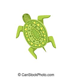 Painted Turtle Hawaiian Vacation Classic Symbol