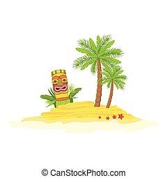 Beach Hawaiian Vacation Classic Symbol